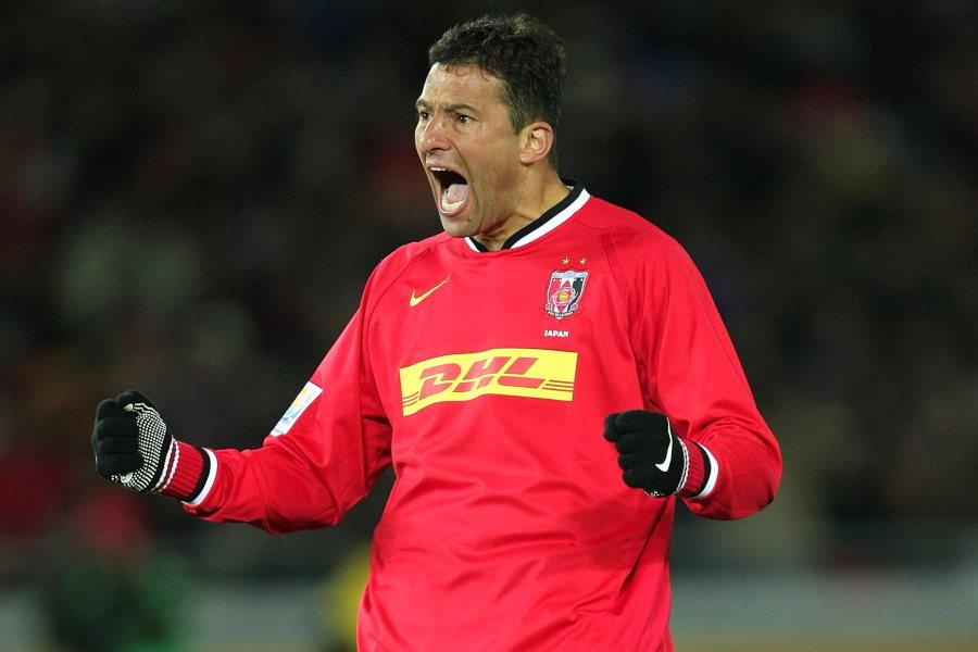 かつて浦和でプレーした元ブラジル代表FWワシントン【写真:Getty Images】