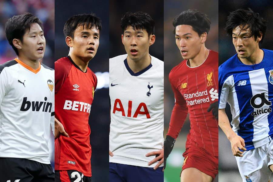 「最も高価なアジア人選手」トップ10にランクインした選手【写真:Getty Images】