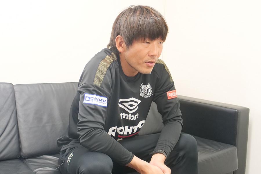 ガンバ大阪のアカデミーストライカーコーチを務める大黒将志【写真:©GAMBA OSAKA】