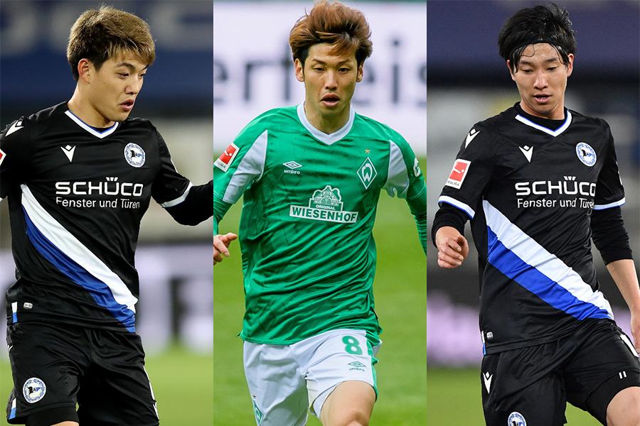 日本人選手が所属するクラブの残留争いに注目【写真:Getty Images】