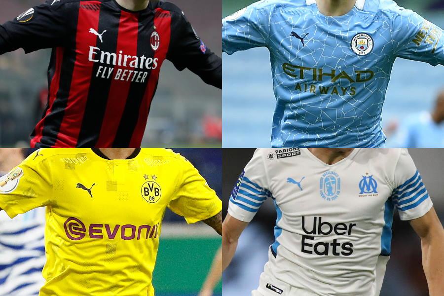 プーマ社の欧州クラブ来季ユニフォームに注目(※写真は今季1stユニフォーム)【写真:AP】