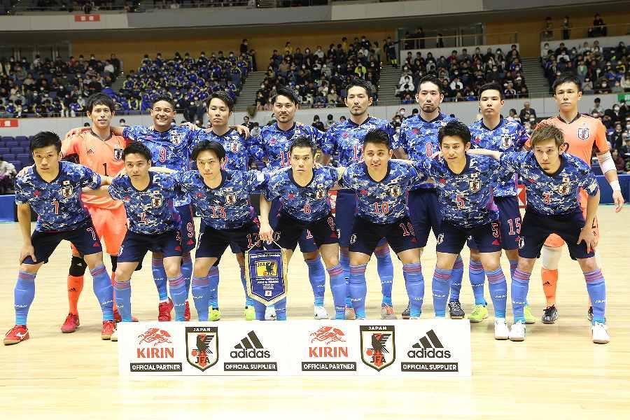 2012年大会以来、2大会ぶりのフットサルW杯に出場する日本代表【写真:河合 拓/Futsal X】