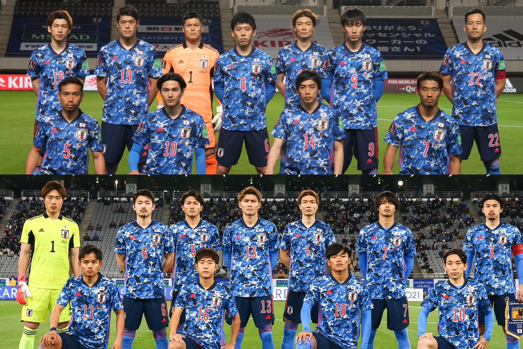 両チームのスタメンが発表された【写真:©JFA】