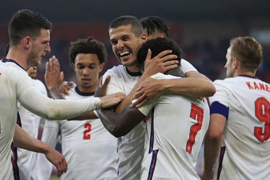 EUROでのイングランド代表に注目【写真:AP】