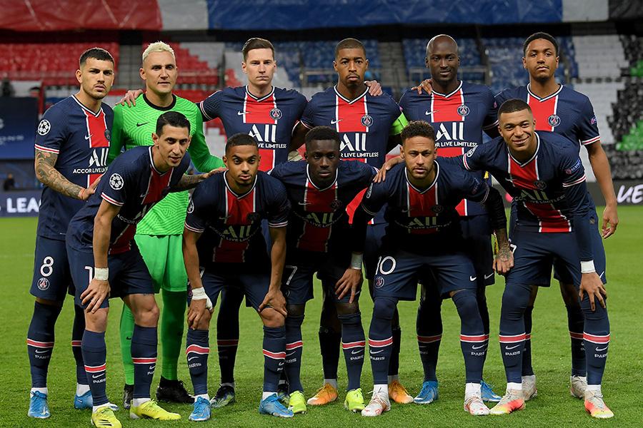 PSGの来季3rdユニフォームデザインに注目(写真は今季の1stユニフォーム)【写真:Getty Images】