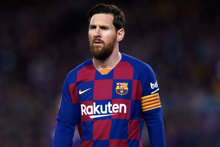 バルセロナFWメッシがコロナ後のサッカー界を展望【写真:Getty Images】