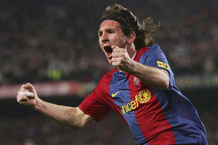 バルセロナFWメッシの「象徴的な瞬間TOP10」特集【写真:Getty Images】