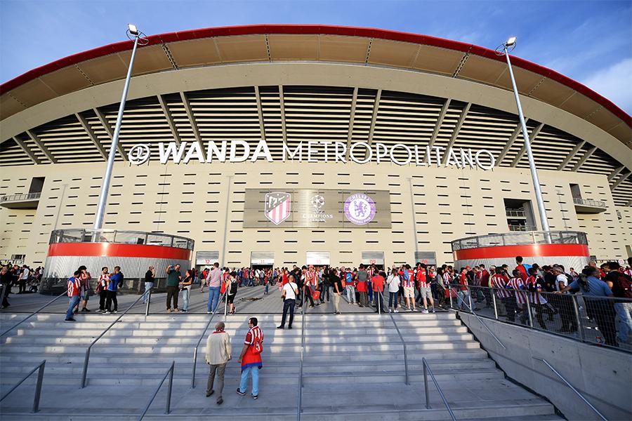 アトレティコ・マドリードの本拠地であるワンダ・メトロポリターノ【写真:Getty Images】