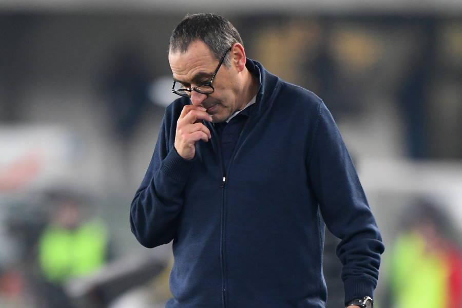 マウリツィオ・サッリ監督が解任の危機に直面している可能性【写真:Getty Images】