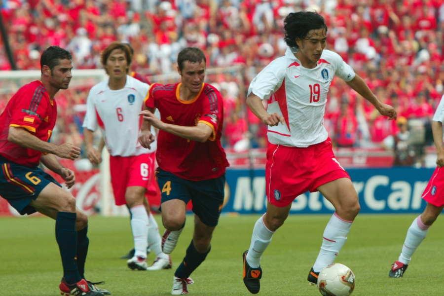 日韓W杯では歴史的勝利を挙げた韓国代表だが…【写真:Getty Images】
