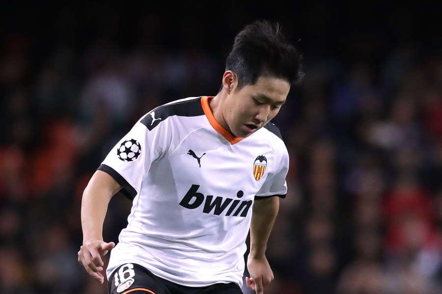 バレンシアに所属する韓国代表MFイ・ガンイン【写真:Getty Images】