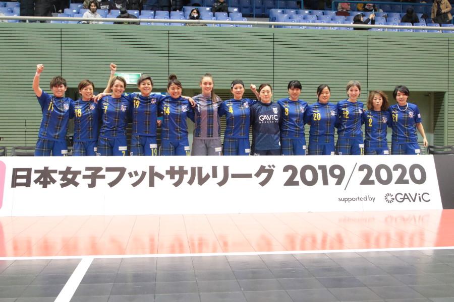 日本女子フットサルリーグは9月5日に開幕(写真は3連覇中のアルコ神戸)【写真:Football ZONE web】