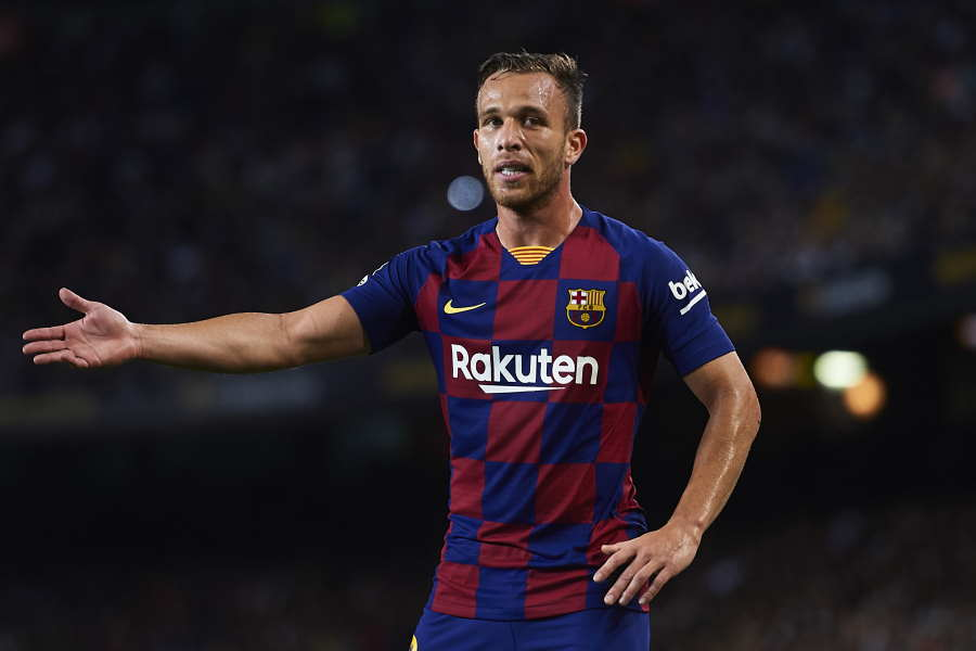 バルセロナのブラジル代表MFアルトゥール【写真:Getty Images】