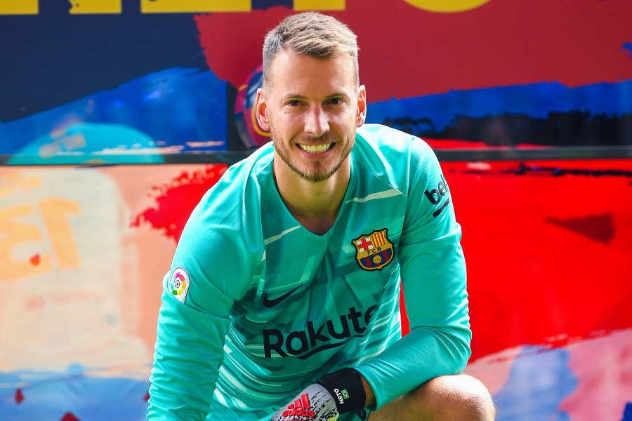 アーセナルが獲得を望むバルセロナのブラジル代表GKネト【写真:Getty Images】