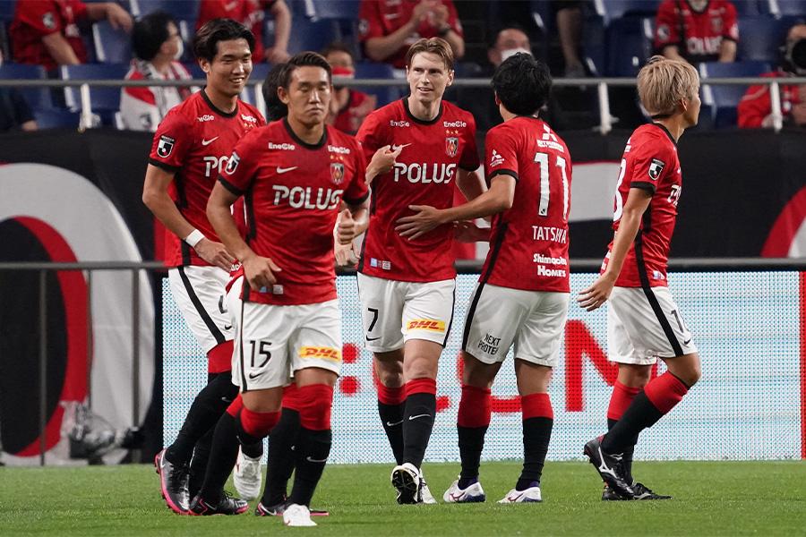 浦和レッズがシーズン後半戦に向けて大きな進化を見せようとしている【写真:Getty Images】