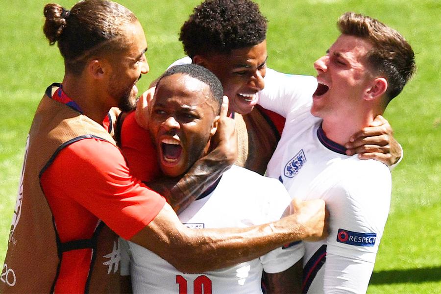 イングランド代表は決勝トーナメントでグループリーグとは見違えるようなサッカーを見せてくれるのだろうか【写真:ロイター】
