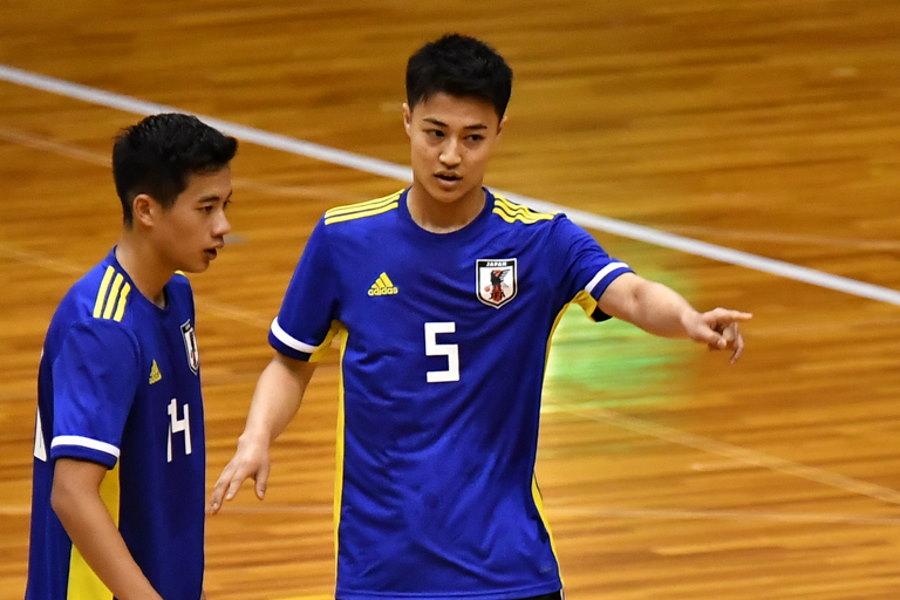 現在スペインでプレーしているU-20フットサル日本代表候補FP大澤雅士【写真:勝又寛晃】