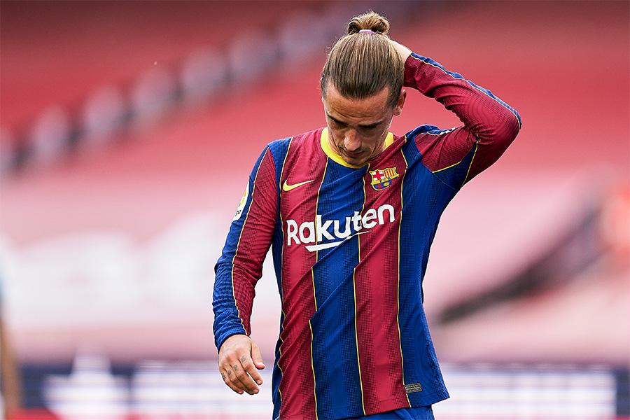 バルセロナのフランス代表FWアントワーヌ・グリーズマン【写真:Getty Images】