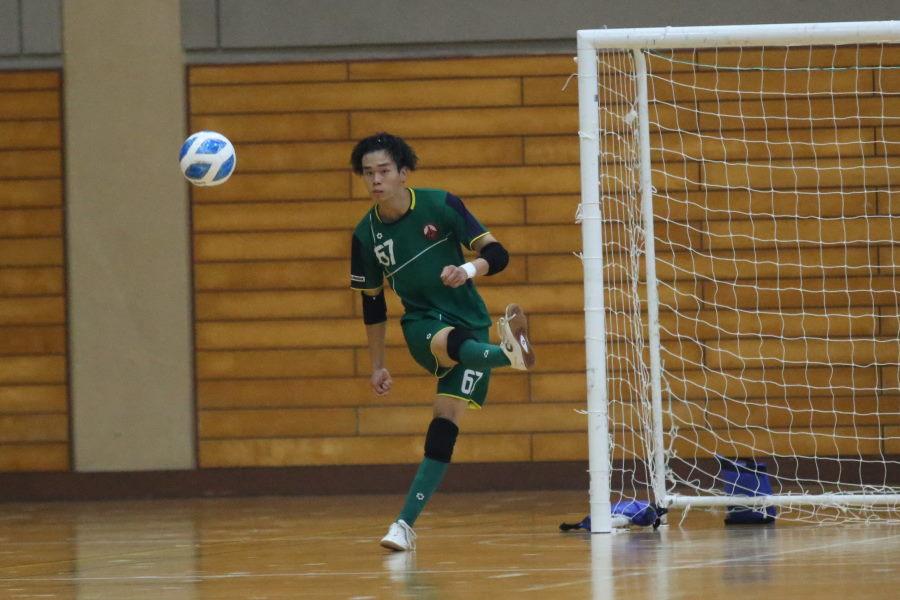 すみだファルコンズGK松谷健吾【写真:Futsal X ・河合 拓】