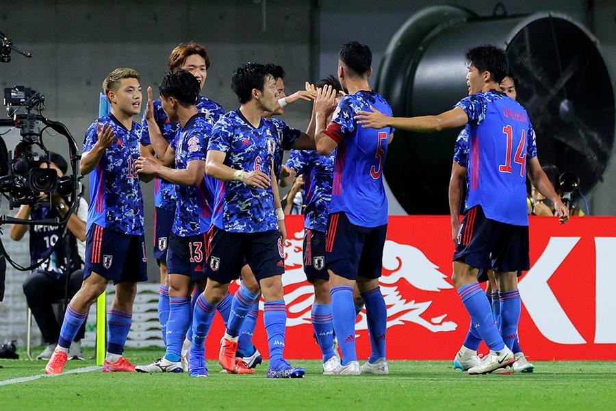 スペイン相手に先制ゴールを奪ったU-24日本代表【写真:Getty Images】
