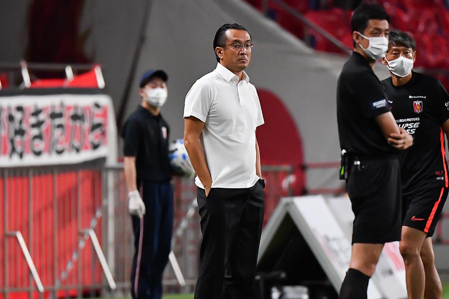 浦和レッズの大槻毅監督が来季の新戦力について言及【写真:高橋学】