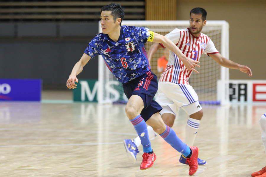 フットサル日本代表の吉川智貴【写真:河合拓/Futsal X】