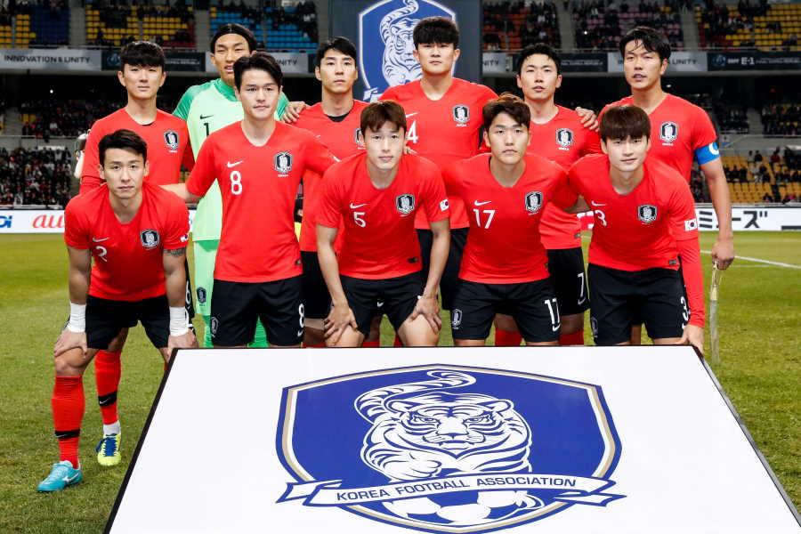 韓国代表は異例の練習試合を行うようだ【写真:Getty Images】