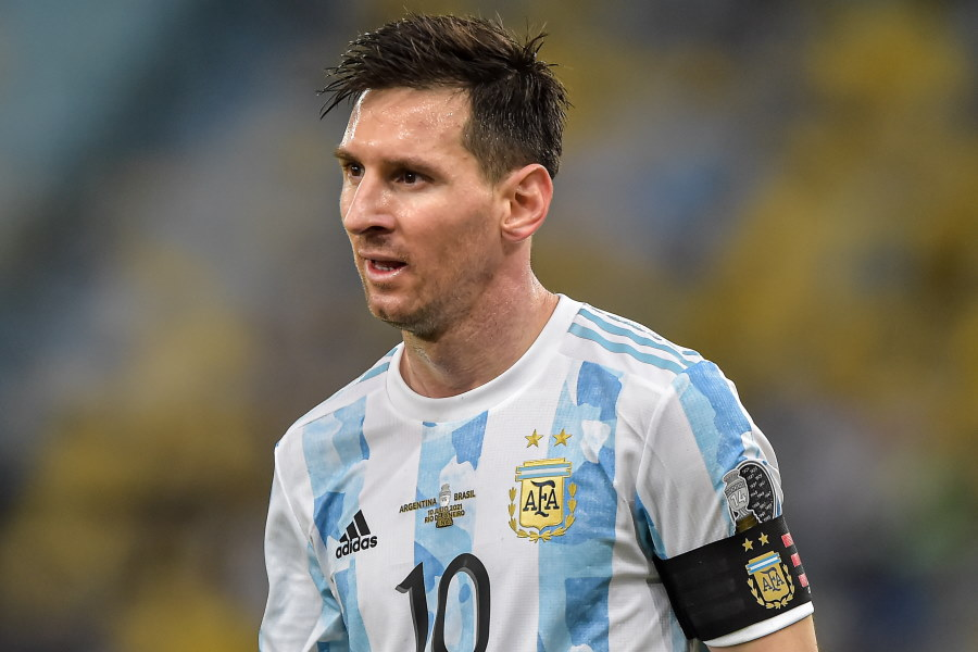 アルゼンチン代表FWリオネル・メッシ【写真:Getty Images】