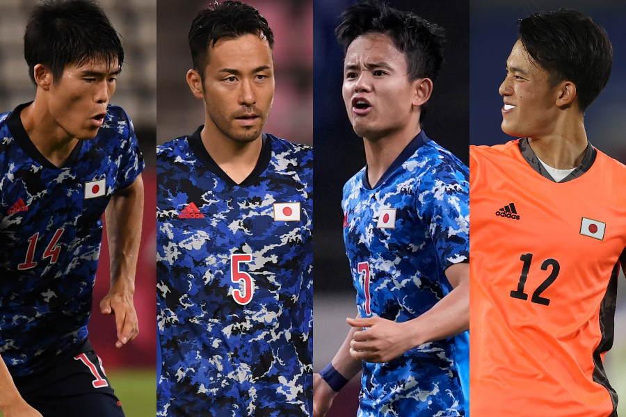 U-24日本代表出場全16選手「パフォーマンス査定」【写真:Getty Images & AP】
