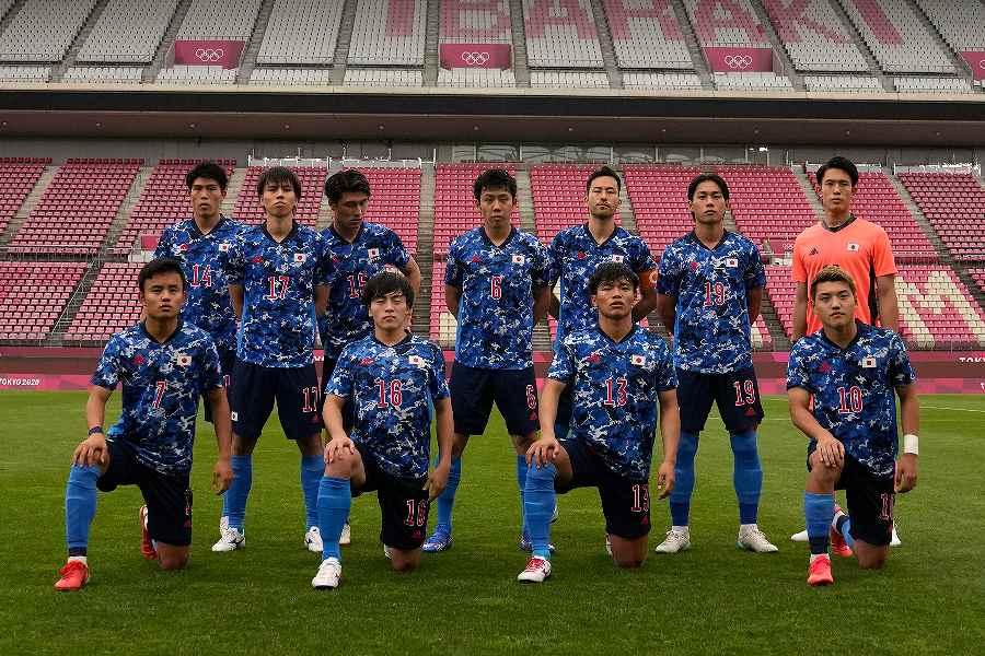 2大会ぶりのベスト4進出を果たしたU-24日本代表【写真:AP】