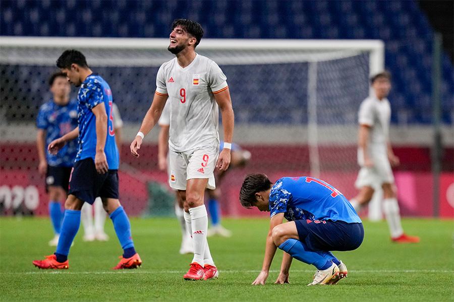 スペイン代表に敗れ決勝進出を逃した【写真:AP】