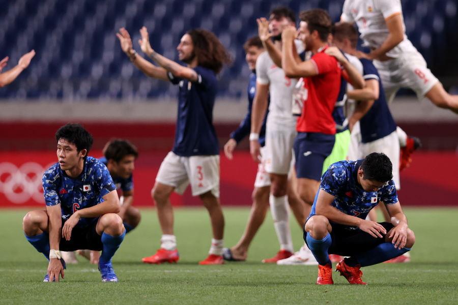 U-24日本代表はスペインに0-1で敗れた【写真:Getty Images】