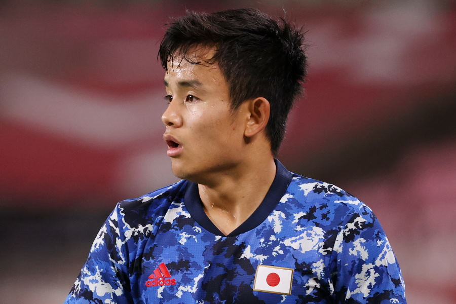 U-24日本代表の一員として東京五輪を戦っているMF久保建英【写真:Getty Images】