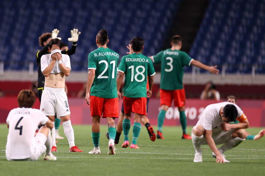 日本はグループリーグで勝利したメキシコに3位決定戦では完敗【写真:Getty Images】