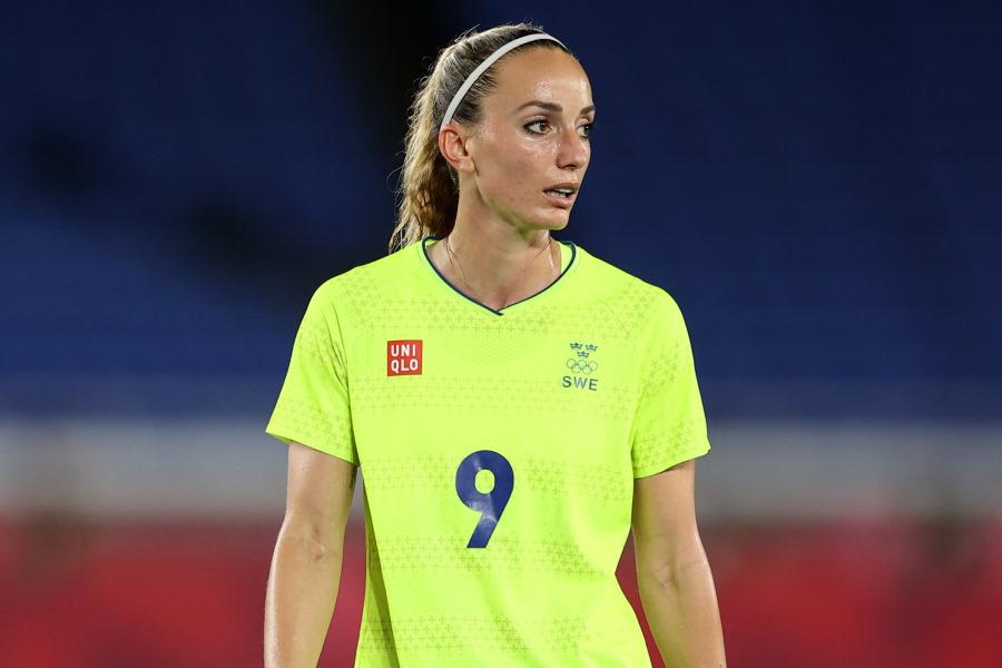 スウェーデン女子代表FWコソヴァレ・アスラニ【写真:Getty Images】