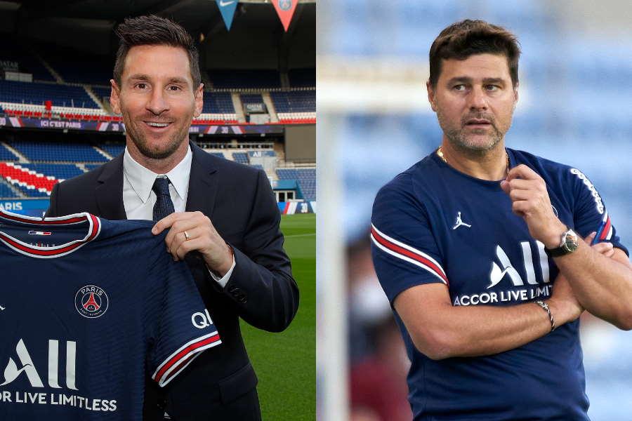 PSGはメッシを獲得し、ポチェッティーノ監督の手腕が問われる【写真:Getty Images】