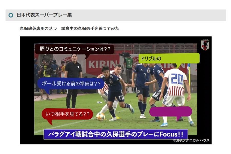 JFAが動画配信ツール「JFAサッカーキッズ動画」の配信を開始【※画像はスクリーンショットです】