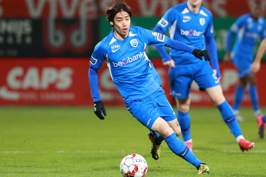 ヘンクの日本代表MF伊東純也が今季初ゴール【写真:Getty Images】