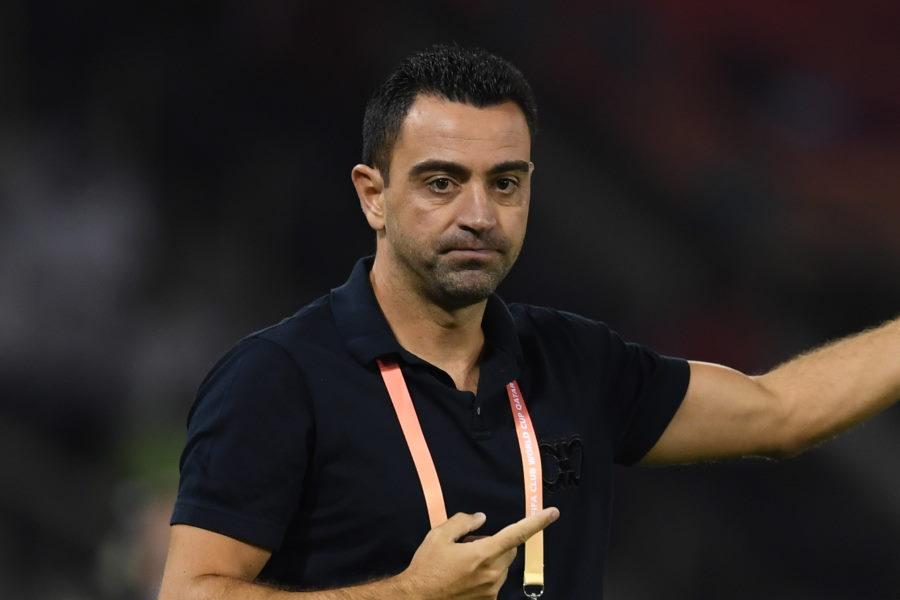 バルセロナでは選手側がシャビの監督就任を望んでいるという【写真:Getty Images】