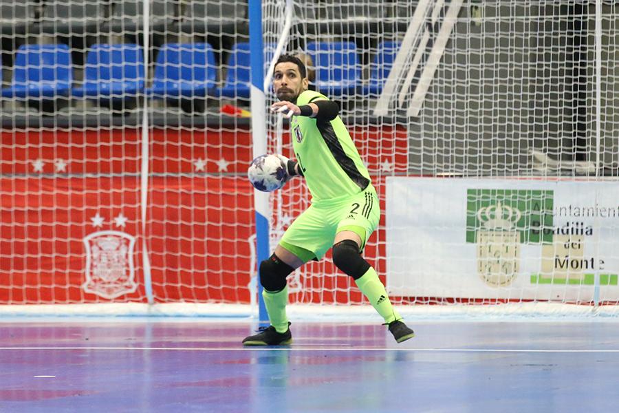 ギラン・バレー症候群から復帰したGKピレス・イゴール【写真:河合拓/Futsal X】