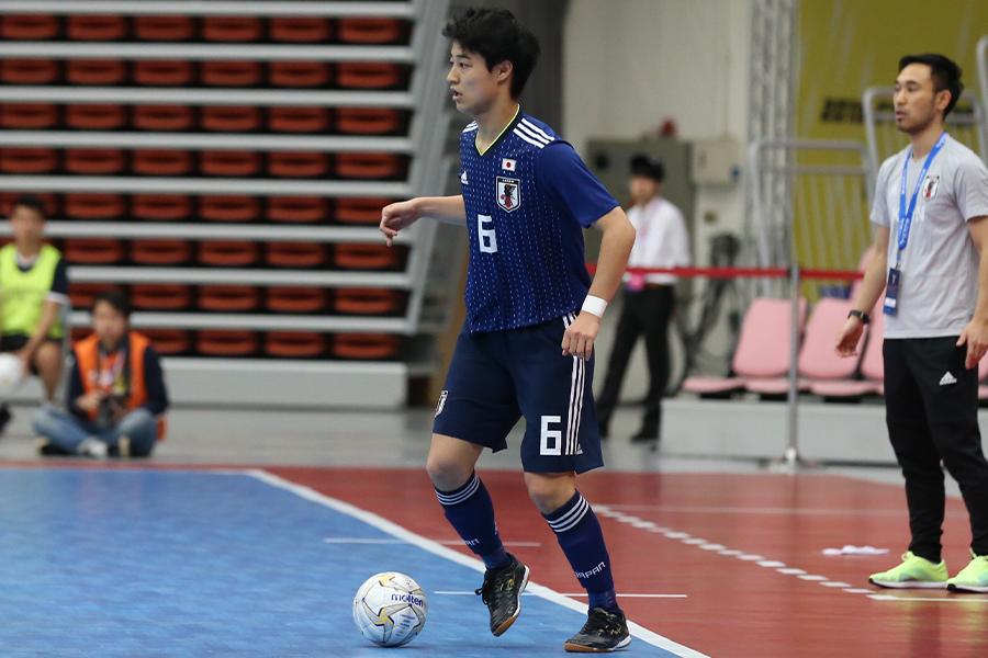 U-20フットサル日本代表にも選出されているFP大澤雅士【写真:河合拓/Futsal X】