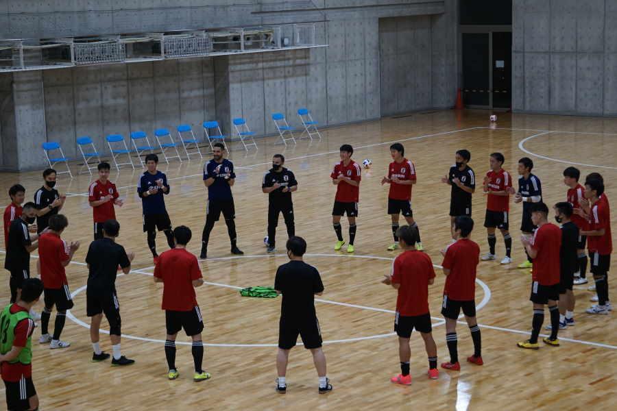 フットサル日本代表、トレーニングキャンプを打ち上げ【写真提供:(C)JFA/PR】