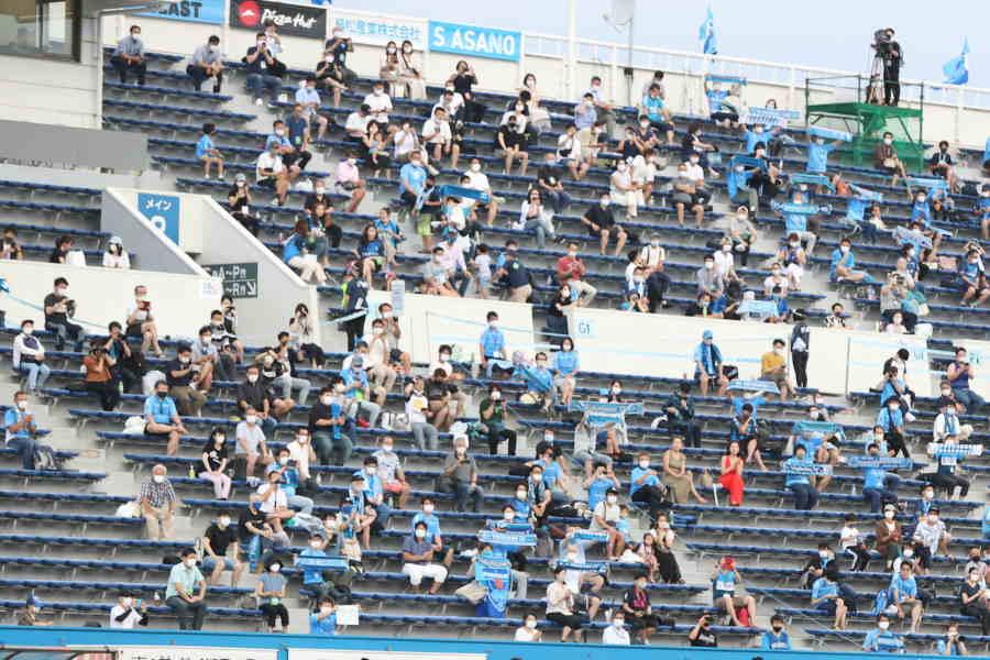 Jリーグは9月30日まで観客5000人以下の「超厳戒態勢」継続【写真:高橋学】