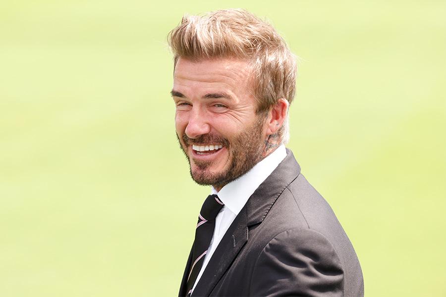 元イングランド代表MFデイビッド・ベッカム【写真:Getty Images】