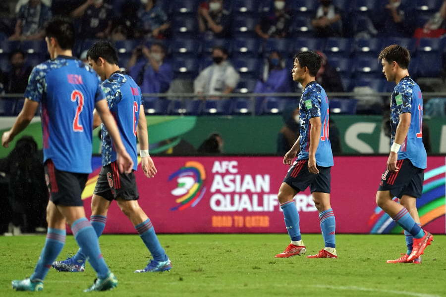 日本代表はW杯最終予選で黒星スタート【写真:Getty Images】