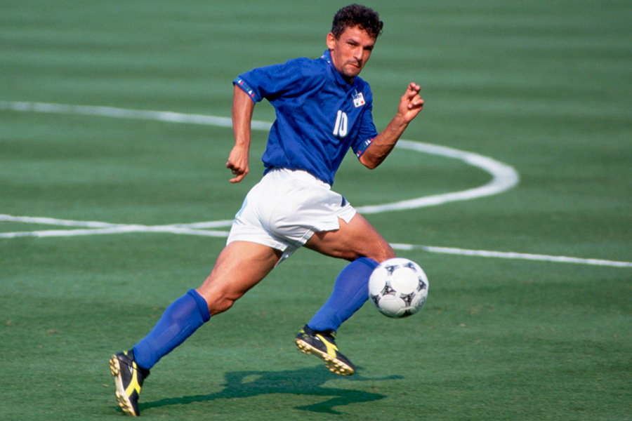 ロベルト・バッジョが1994年のワールドカップを振り返った【写真:Getty Images】