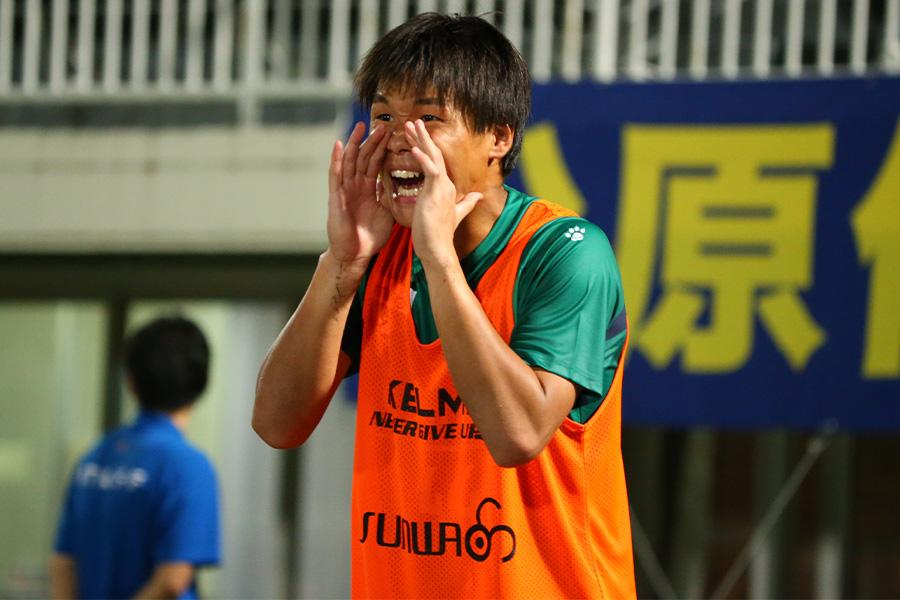 早稲田大から加入した新人GK山田晃士は熱い声掛けが大反響【写真:©THESPA】