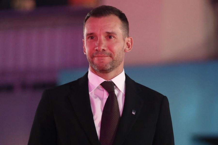 ウクライナ代表監督を務めるアンドリー・シェフチェンコ氏【写真:Getty Images】