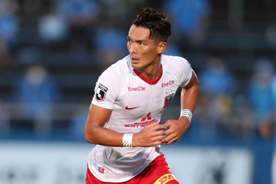 2018年以来のリーグ戦でのゴールを決めた浦和レッズDF槙野智章【写真:高橋学】