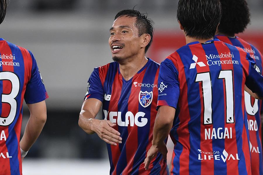 FC東京に復帰をしたDF長友佑都【写真:Getty Images】